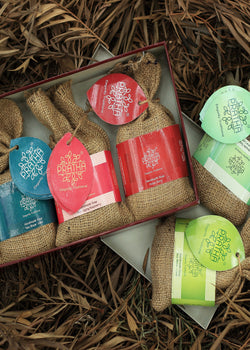 Pratha Naturals Signature Handmade Soap Gift Box, gift set, Pratha Naturals, ihaat, [made_in_india], [handmade] - ihaat