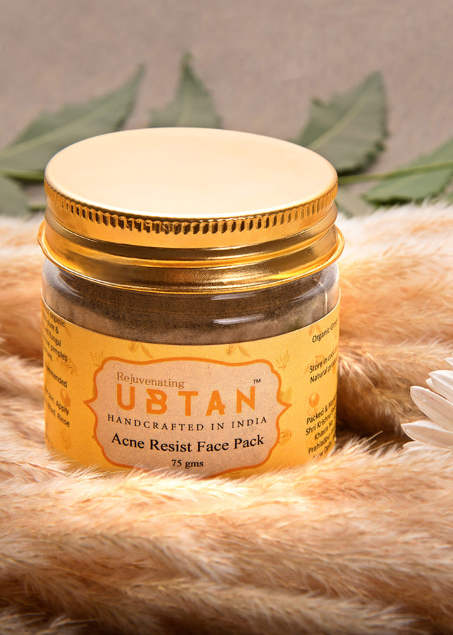 Rejuvenating UBTAN Acne Resist Face Pack, Face Care, Rejuvenating UBTAN, ihaat, [made_in_india], [handmade] - ihaat