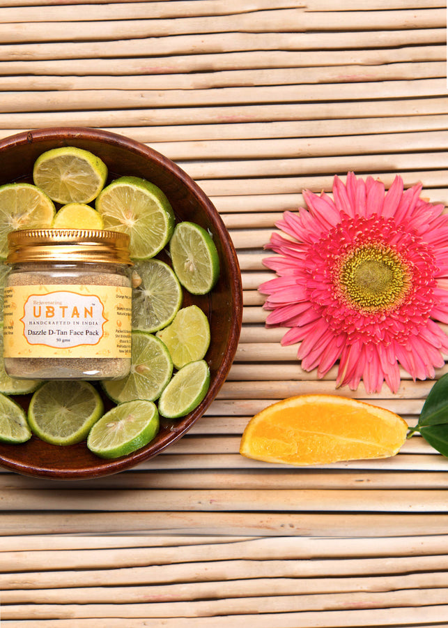 Rejuvenating UBTAN Dazzle D-Tan Face Pack, Face Care, Rejuvenating UBTAN, ihaat, [made_in_india], [handmade] - ihaat
