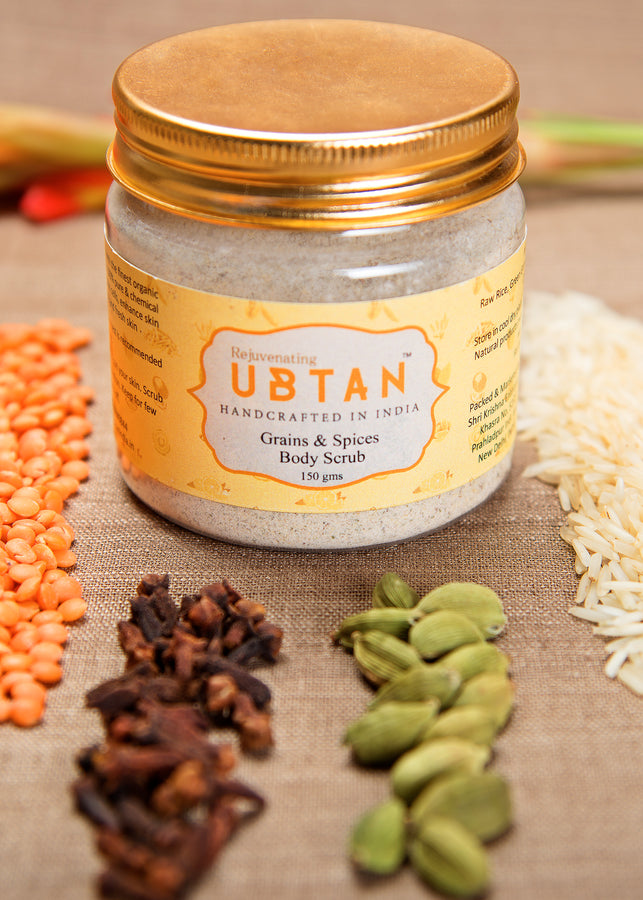 Rejuvenating UBTAN Grain & Spices Body Scrub, Body Care, Rejuvenating UBTAN, ihaat, [made_in_india], [handmade] - ihaat