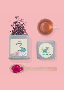 Tea Trunk Rose Oolong Tea, Tea, Tea Trunk, ihaat, [made_in_india], [handmade] - ihaat