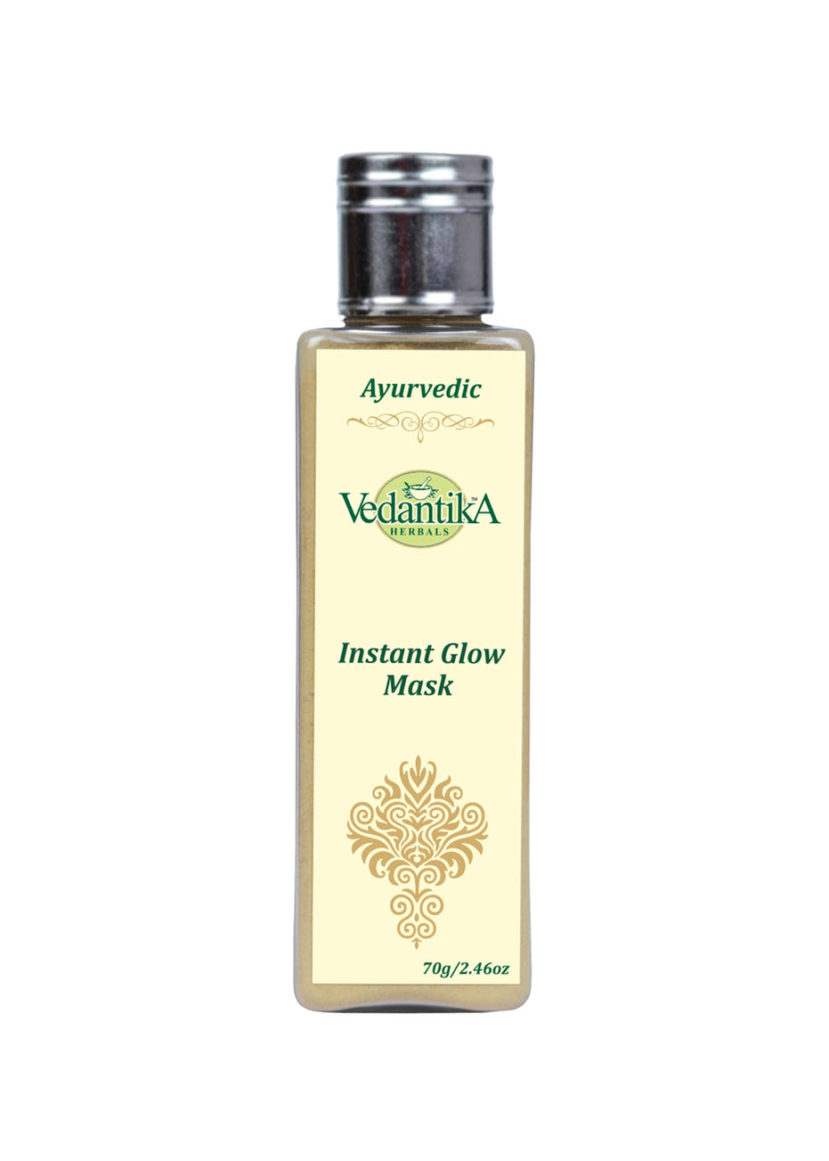 Vedantika Herbals Instant Glow Mask, Face Pack, Vedantika Herbals, ihaat, [made_in_india], [handmade] - ihaat