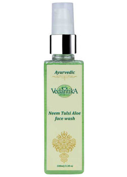 Vedantika Herbals Neem Tulsi Face Wash, Face Wash, Vedantika Herbals, ihaat, [made_in_india], [handmade] - ihaat