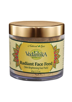 Vedantika Herbals Radiant Face Feed, Face Mask, Vedantika Herbals, ihaat, [made_in_india], [handmade] - ihaat