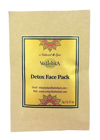 Vedantika Herbals Trial Pack-Detox Face Pack, Face Pack, Vedantika Herbals, ihaat, [made_in_india], [handmade] - ihaat