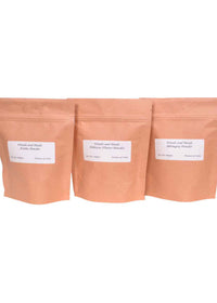 ihaat.in Woods And Petals Amla Powder Hibiscus Powder Bhringraj Powder (Set Of 3)