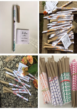 Pure Living Plantable Pen Made of Paper, Pen, Pure Living, ihaat, [made_in_india], [handmade] - ihaat