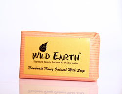 Wild Earth Honey Oatmeal Milk Soap 100gms each (Set of 3), Body Care, Soap, Wild Earth, ihaat, [made_in_india], [handmade] - ihaat