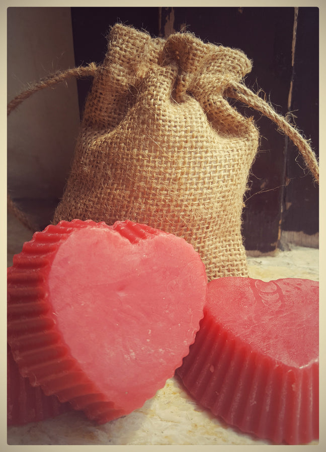 Botanic Love Strawberry Crush Bar, Body Care, Soap, Botanic Love, ihaat, [made_in_india], [handmade] - ihaat