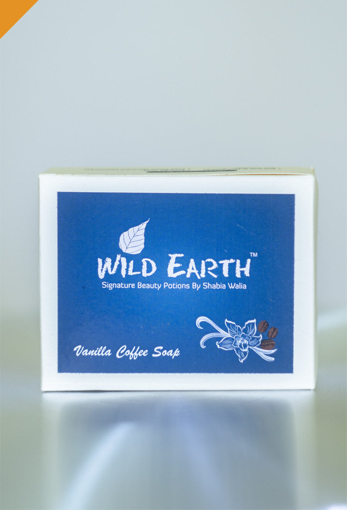 Wild Earth Vanilla Coffee Loofah Soap 100gms each (Set of 3), Natural Soap/Bathing Bar, Wild Earth, ihaat, [made_in_india], [handmade] - ihaat