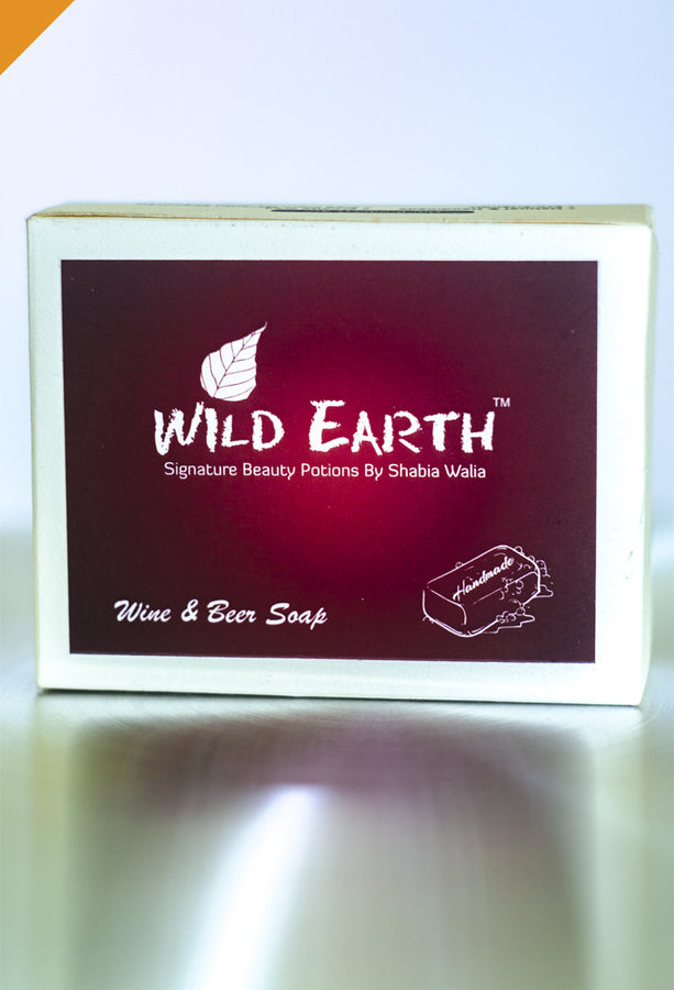 Wild Earth Drunken Wine & Beer Soap (Set of 3), Natural Soap/Bathing Bar, Wild Earth, ihaat, [made_in_india], [handmade] - ihaat