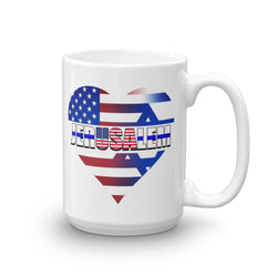 hot seller usa in the heart of jerusalem mug