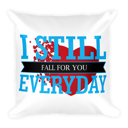 i still fall for you everyday rectangular pillow case