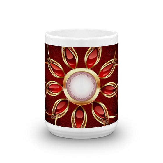 BEAUTIFUL FLOWER MUG