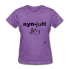 Angel T-Shirt - purple heather