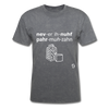 Never Enough Parmesan T-Shirt - mineral charcoal gray