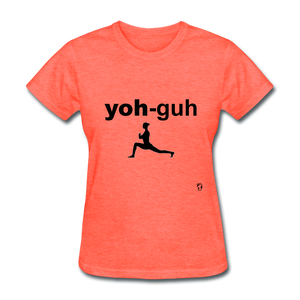 Yoga T-Shirt - heather coral