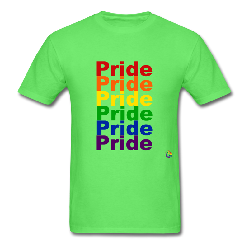 Pride T-Shirt - mineral charcoal gray