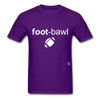 Football T-Shirt - purple