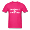 Be Gentle T-Shirt - fuchsia