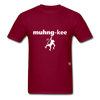 Monkey T-Shirt - burgundy