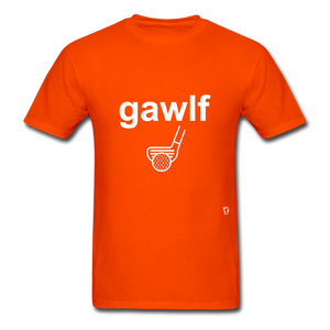 Golf T-Shirt - orange