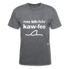 Me Before Coffee T-Shirt - mineral charcoal gray
