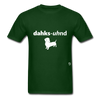 Dachshund T-Shirt - forest green