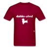 Dachshund T-Shirt - dark red