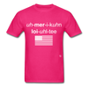 American Loyalty T-Shirt - fuchsia