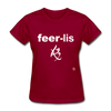 Fearless T-Shirt - dark red