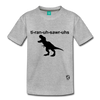 Tyrannosaurus Rex Kids' Premium T-Shirt - heather gray