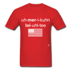 American Loyalty T-Shirt - red