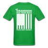 Army Grandpa T-Shirt - bright green