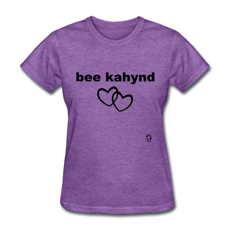 Be Kind T-Shirt - purple heather