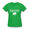 Elephant Sanctuary T-Shirt - bright green