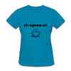 Espresso T-Shirt - turquoise