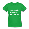 Protect Wildlife T-Shirt - bright green