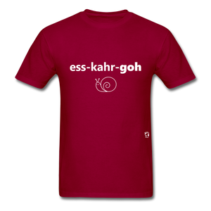 Escargot T-Shirt - dark red