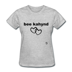 Be Kind T-Shirt - heather gray