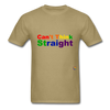 Can't Think Straight T-Shirt - khaki