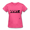 Elephants T-Shirt - heather pink