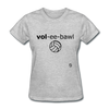 Volleyball T-Shirt - heather gray