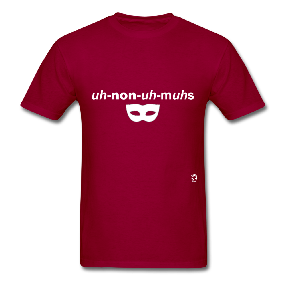 Anonymous T-Shirt - dark red
