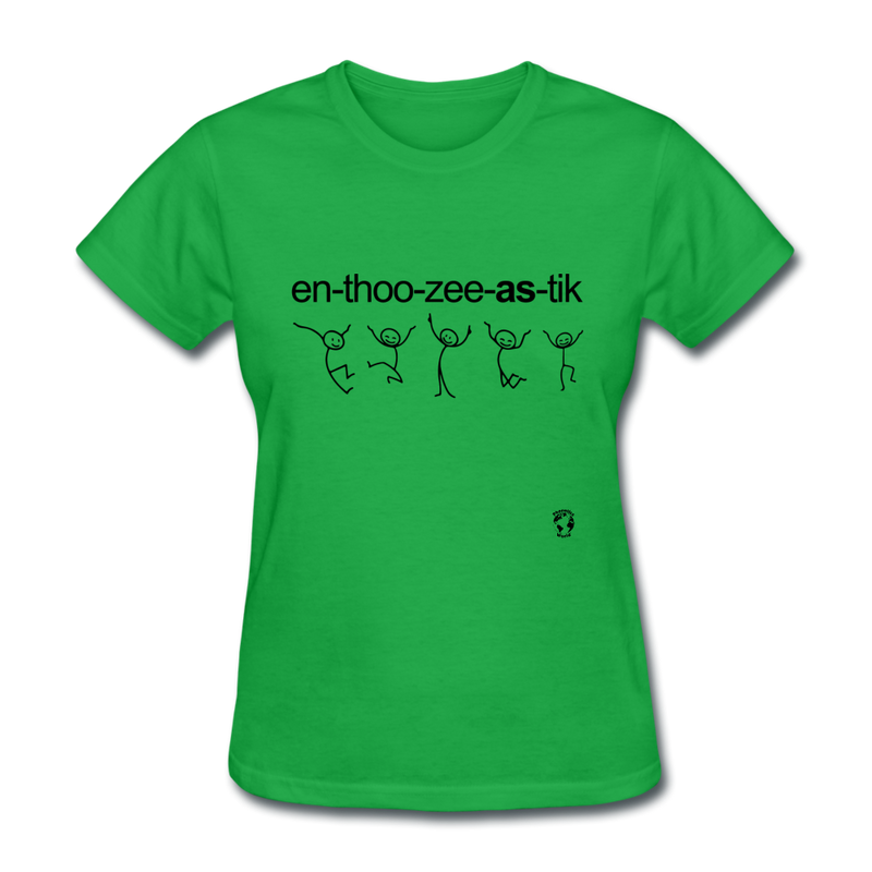 Enthusicastic T-Shirt - pink