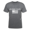 American T-Shirt - mineral charcoal gray