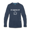 Espresso Long Sleeve T-Shirt - navy