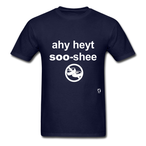 I Hate Sushi T-Shirt - navy
