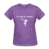 Gymnastic's Mom T-Shirt - purple heather