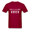 Women Unite T-Shirt - dark red